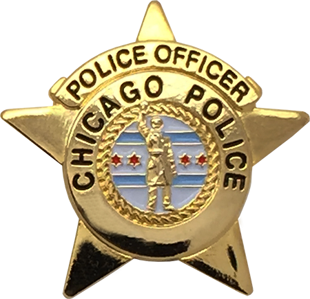 chicago police department star lapel pin chicagocop com exclusive