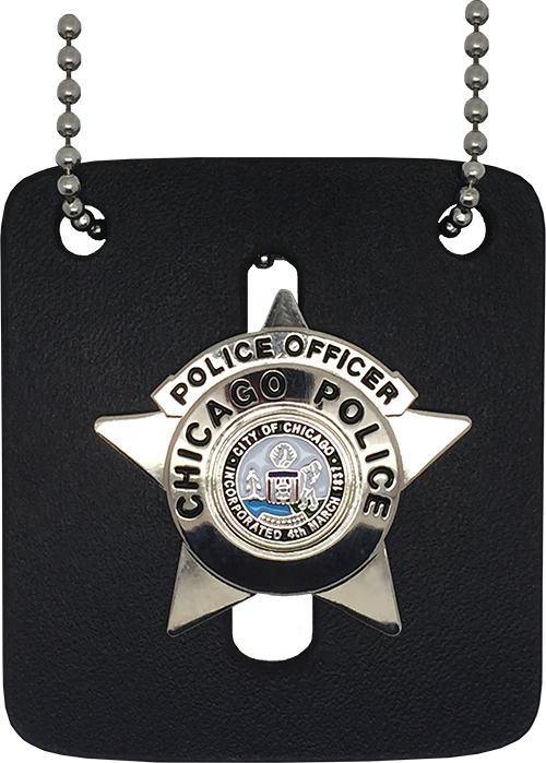 chicago police replica police officer star badge chicago cop shop