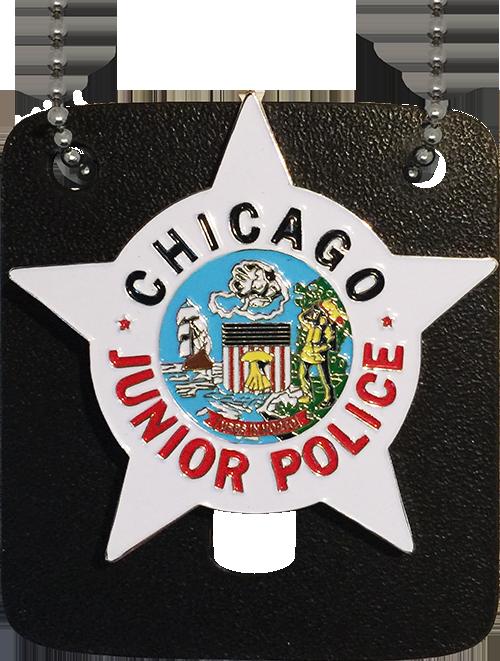 CHICAGO POLICE JUNIOR POLICE OFFICER STAR BADGE
