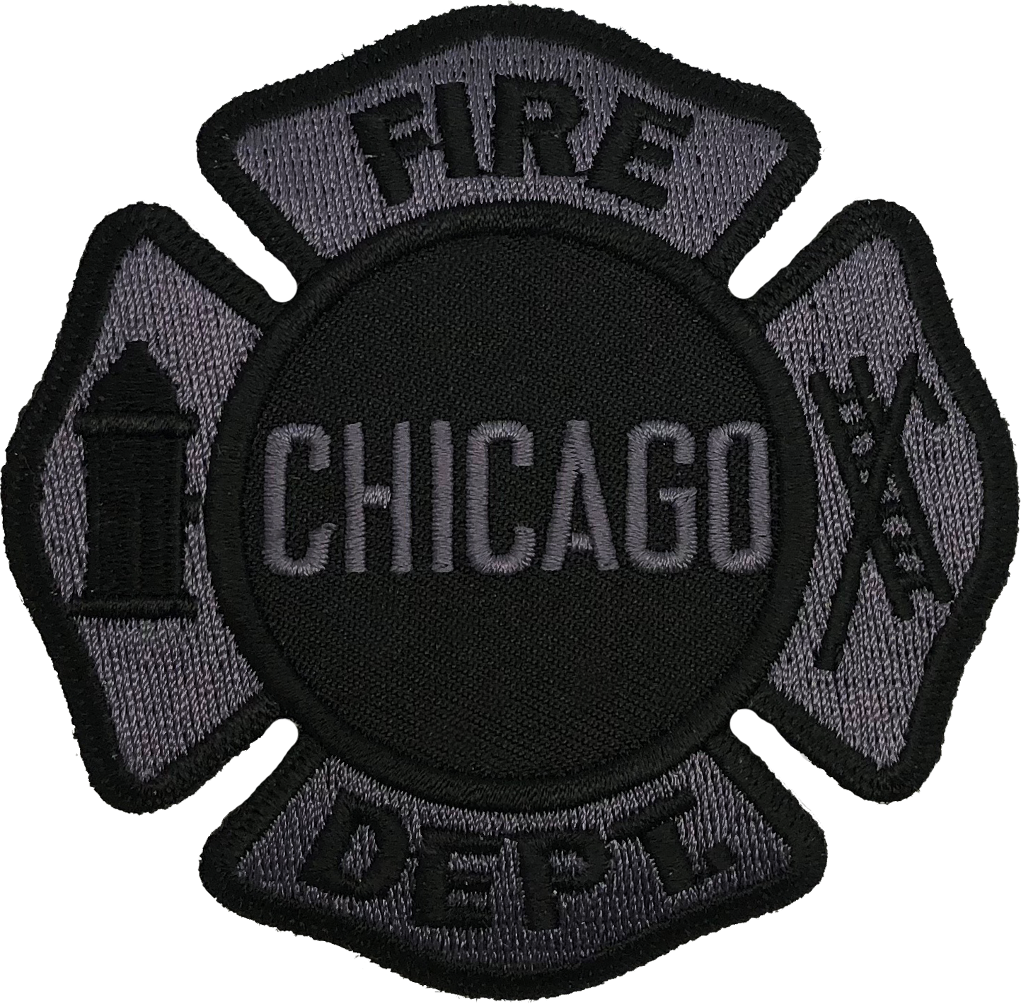 chicago fire department maltese patch subdued chicago cop shop chicago fire department maltese patch subdued