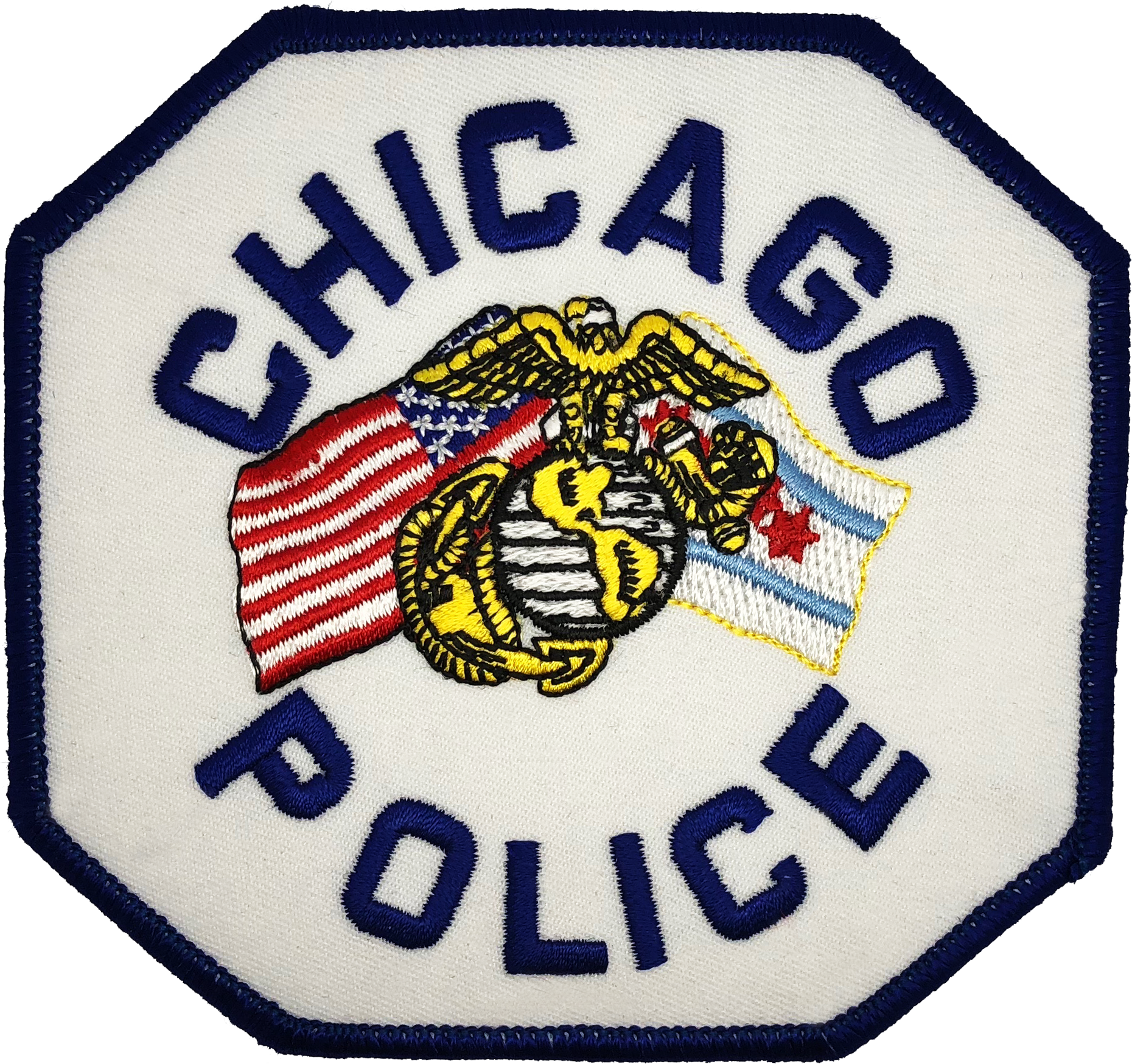 7dd6a65046c CHICAGO POLICE SHOULDER PATCH  U.S. Marine Corps