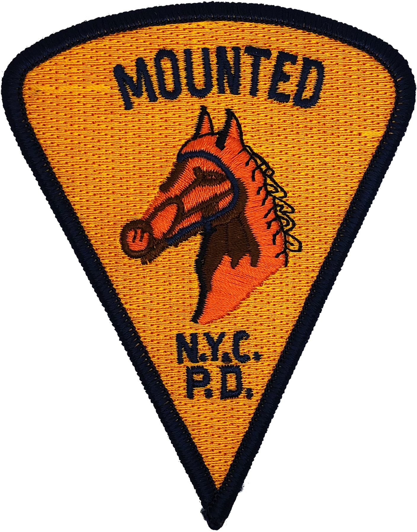 New York All Star Game Police Department Novelty Shoulder Patch