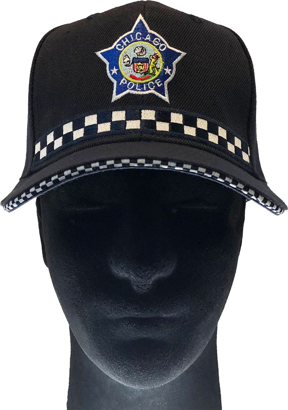 Chicago Police High Crown Uniform Cap Police Officer