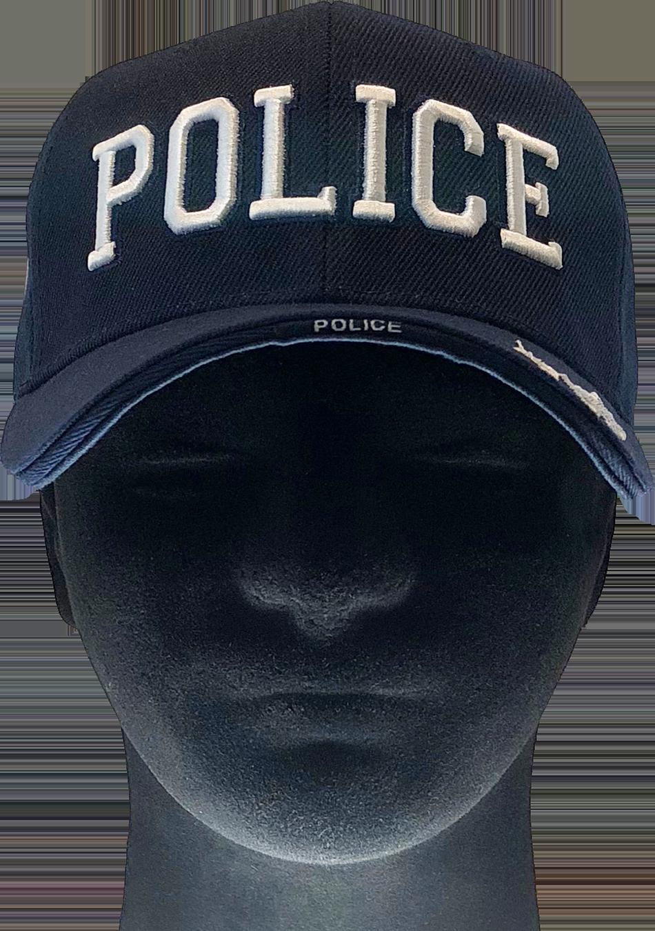 f96d9b19348d2 POLICE BASEBALL CAP – Dark Navy
