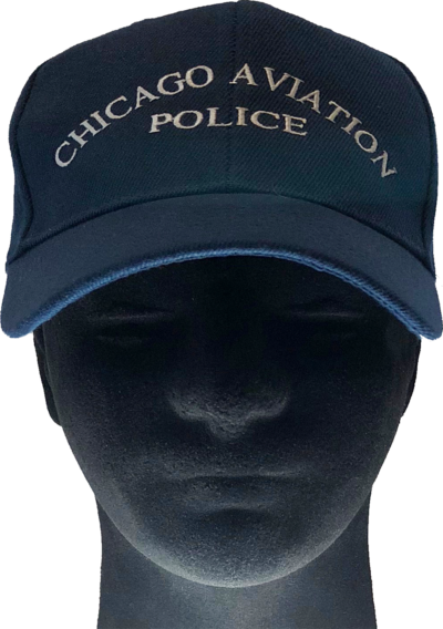 4d6bf928e9b56 CHICAGO AVIATION POLICE BASEBALL CAP – Dark Navy
