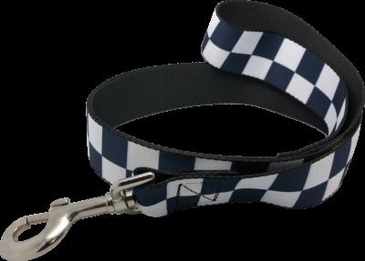 "SILLITOE TARTAN HATBAND MATERIAL: Black /& White 1.5/"" CHICAGO POLICE CHECKER"